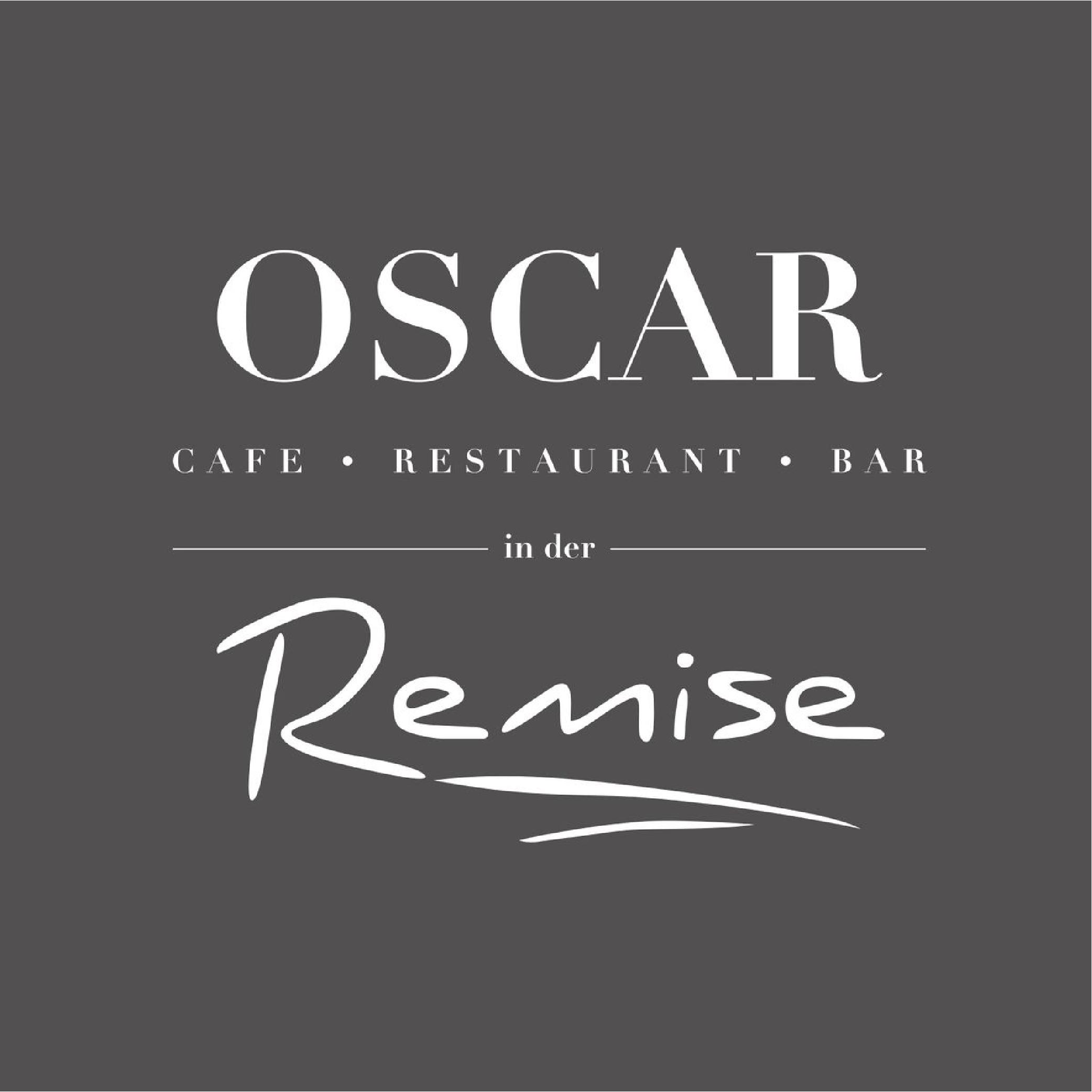 OSCAR in der Remise Logo grauer Hintergrund